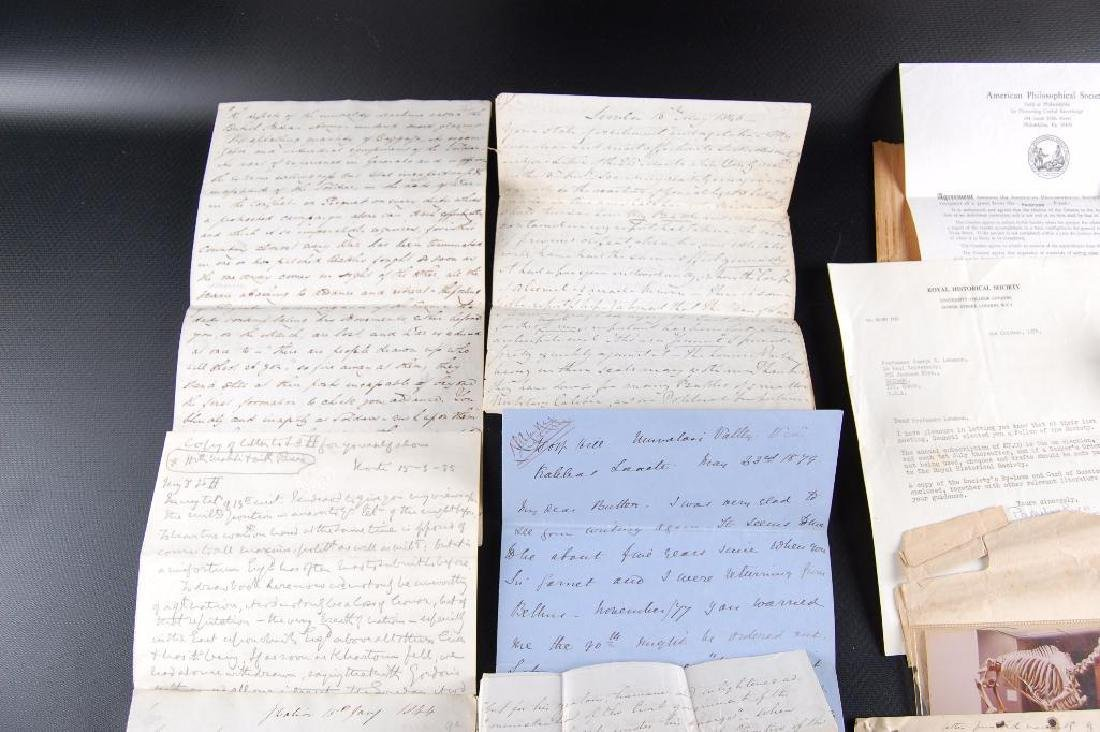 Group of Victorian Letters Sent Home from British - 3