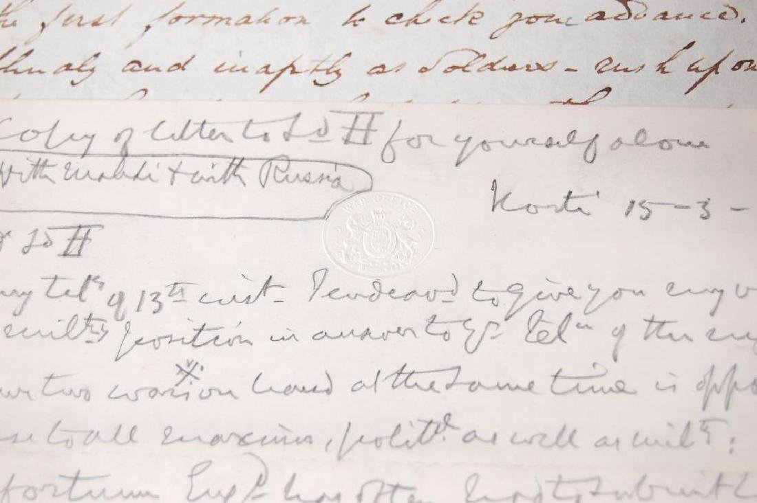 Group of Victorian Letters Sent Home from British - 4