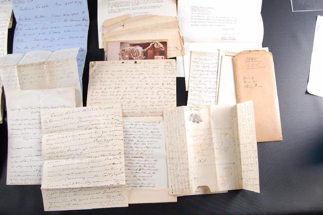 Group of Victorian Letters Sent Home from British - 6