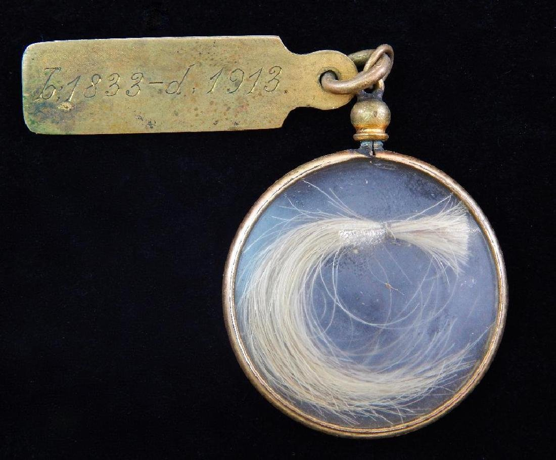 Locket of Hair from Lord M. Viscount Wolsely and - 5