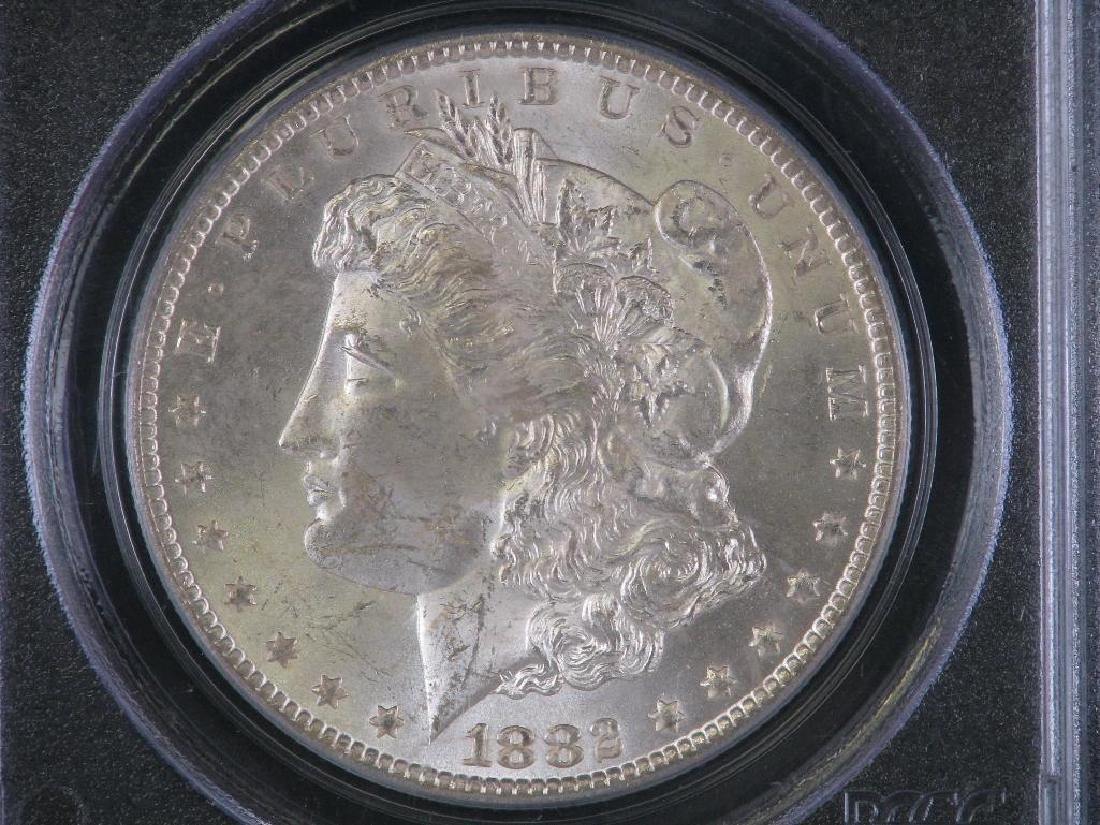 1882-CC Morgan Dollar PCGS MS63 - 3