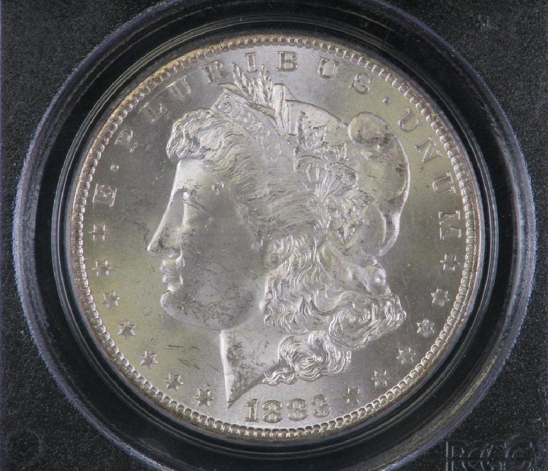 1883-CC Morgan Dollar PCGS MS64 - 3