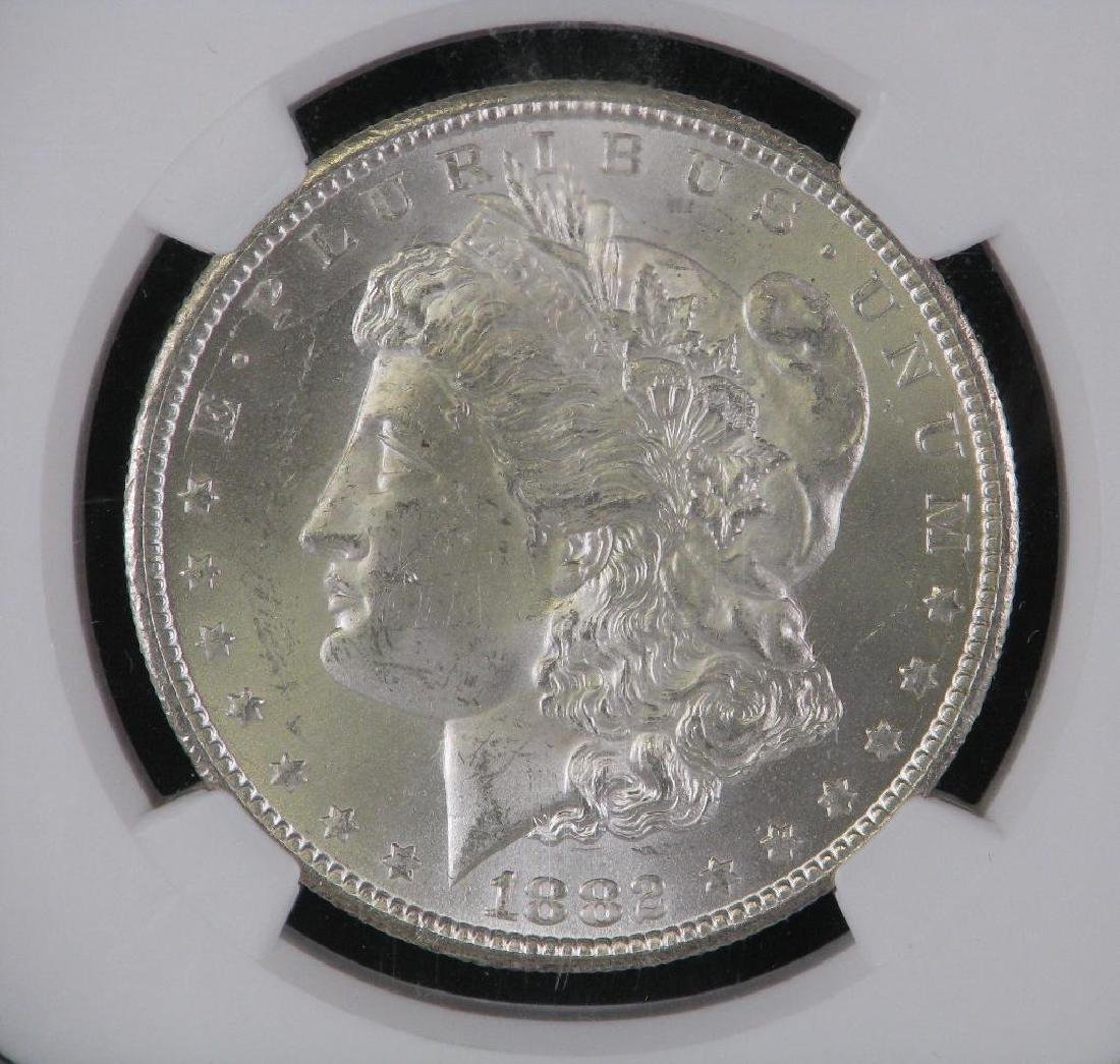 1882-CC Morgan Dollar NGC MS63 - 3