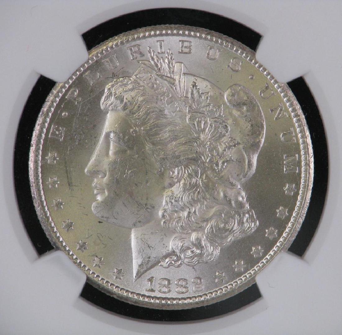 1882-CC Morgan Dollar NGC MS63 - 3
