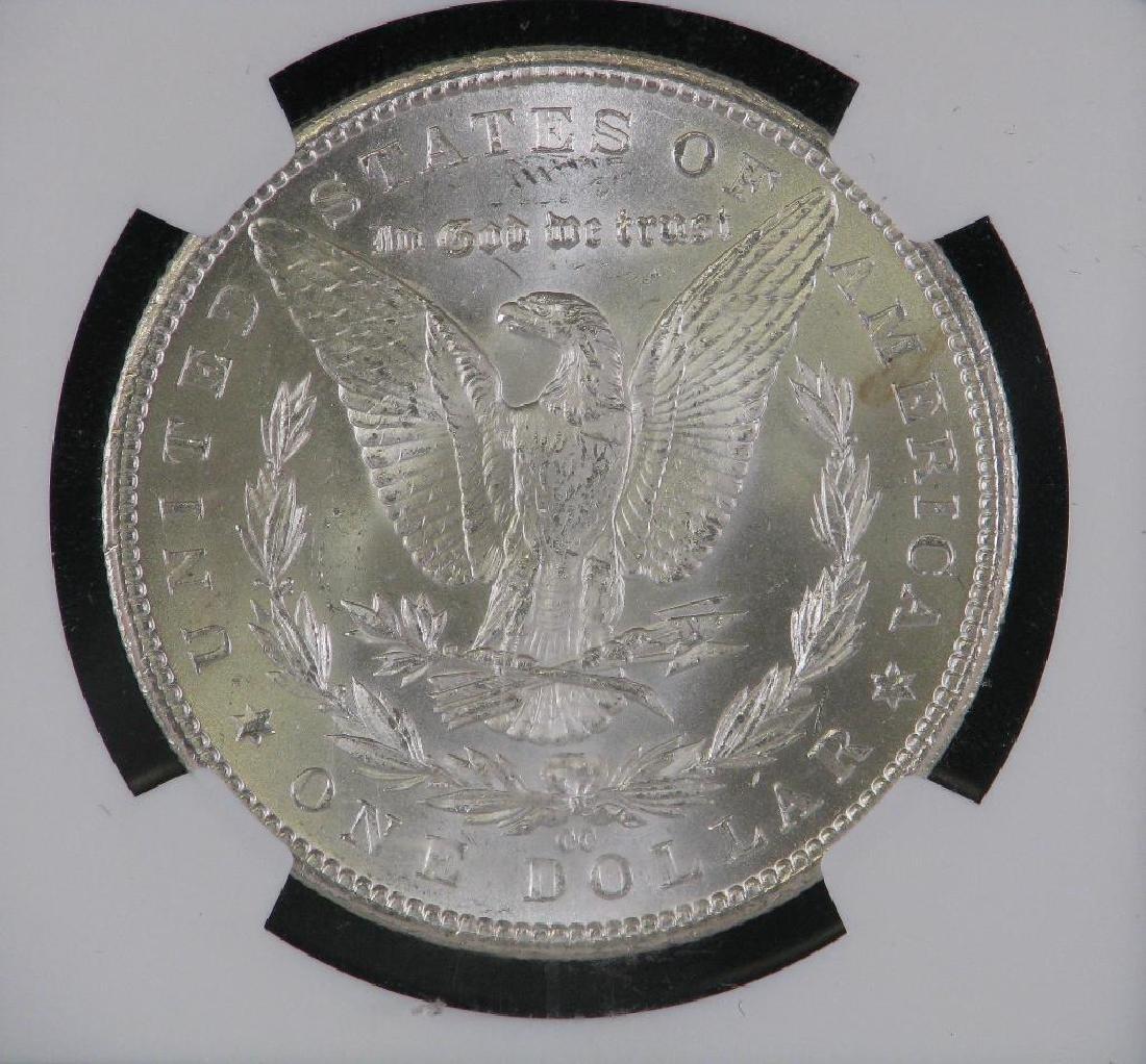 1884-CC Morgan Dollar NGC MS63 - 4
