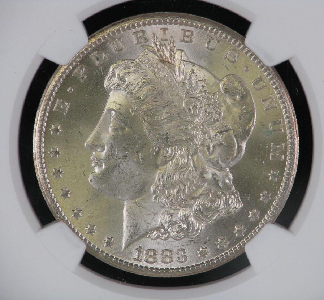 1883-CC Morgan Dollar NGC MS63 - 3