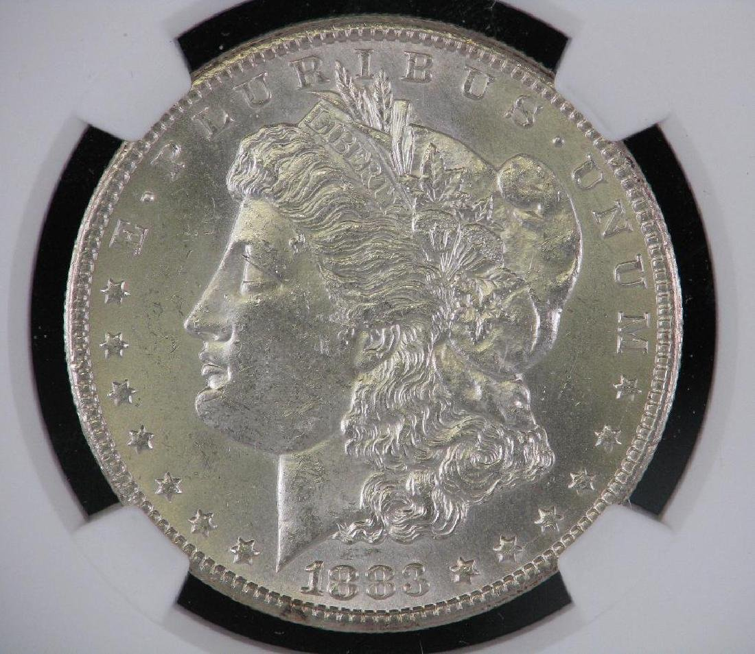 1883-CC Morgan Dollar NGC MS63 - 3