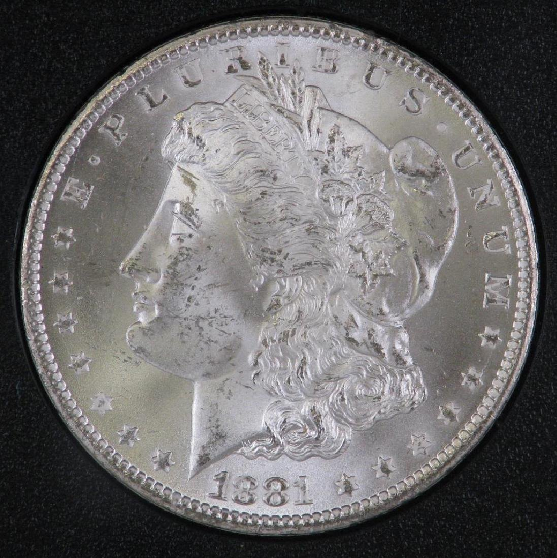 1881-CC Morgan Dollar : GSA Hoard - 2