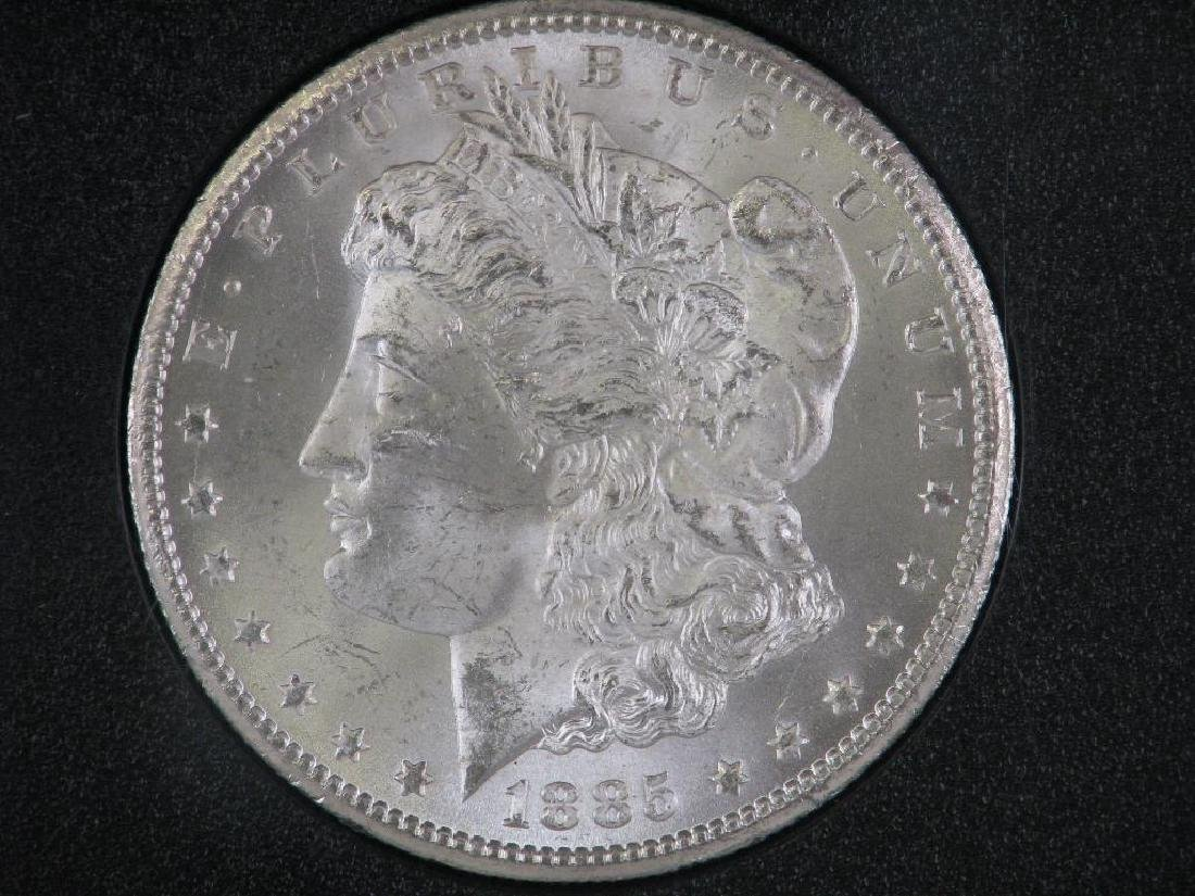 1885-CC Morgan Dollar : GSA Hoard
