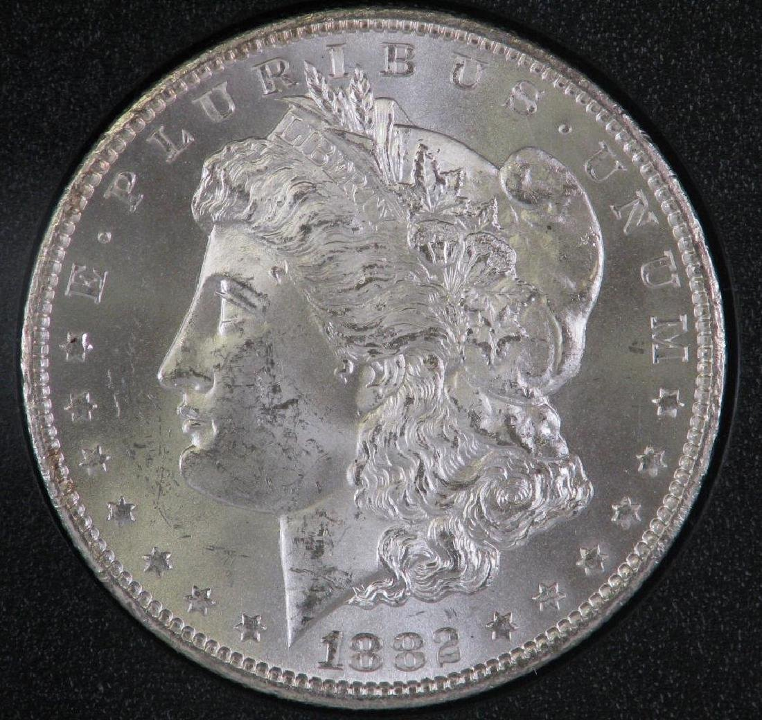 1882-CC Morgan Dollar : GSA Hoard