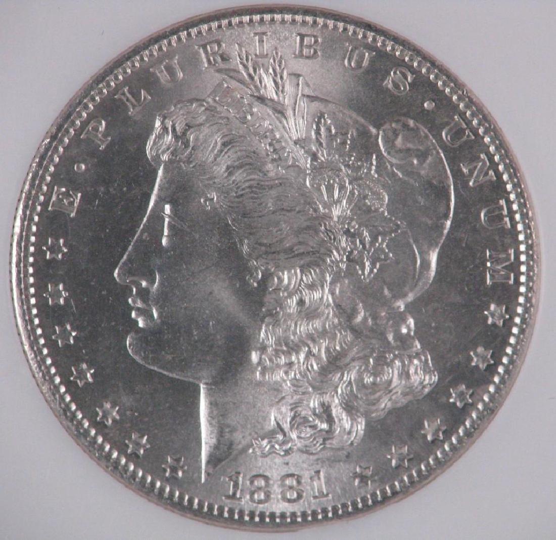 1881-S Morgan Dollar NGC MS65 - 3