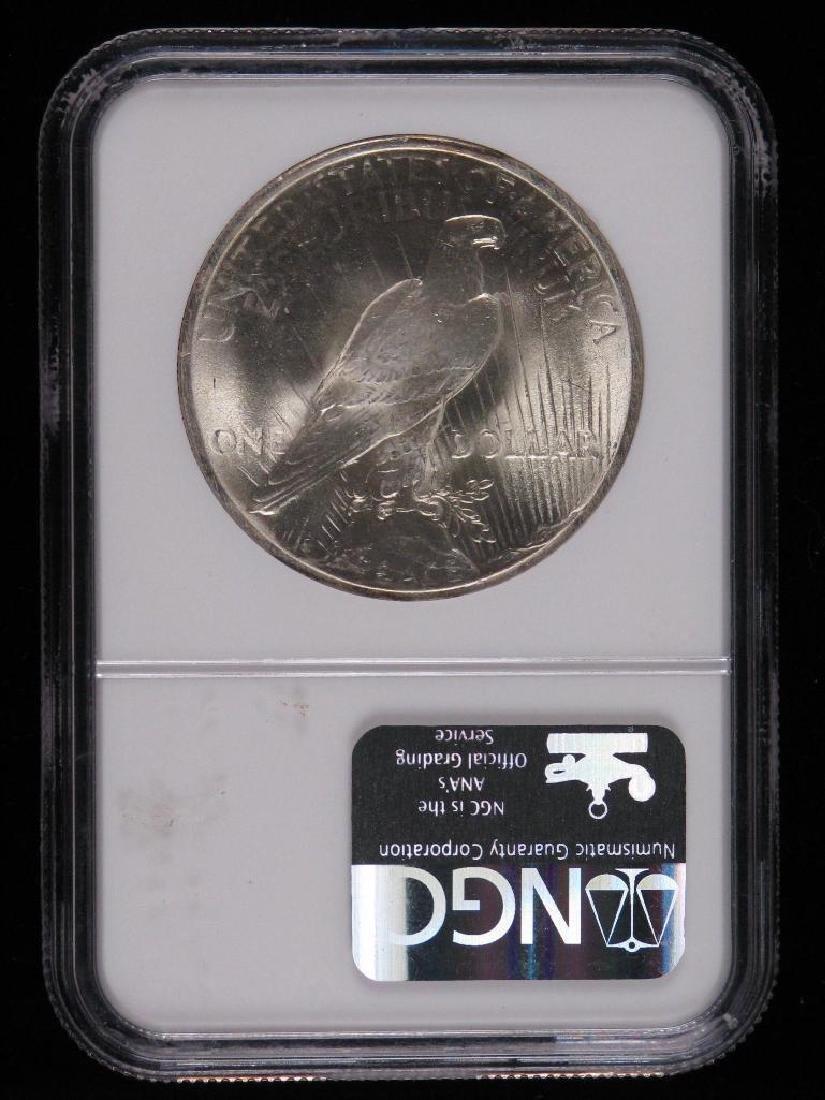 1922-P Peace Dollar NGC MS65 - 2