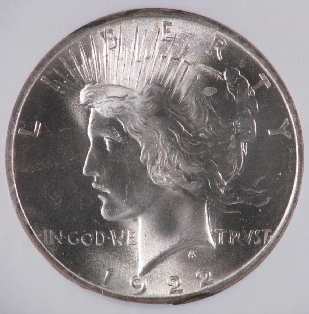 1922-P Peace Dollar NGC MS65 - 3