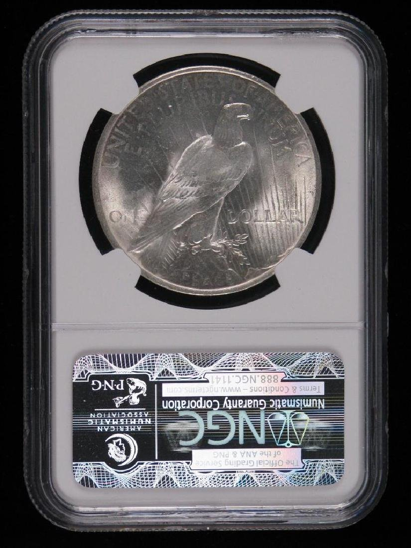 1923-P Peace Dollar NGC MS65 - 2