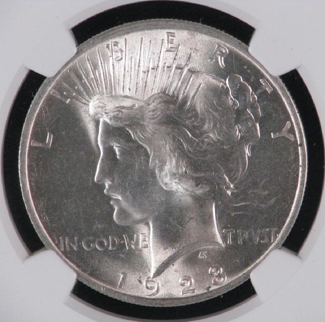 1923-P Peace Dollar NGC MS65 - 3