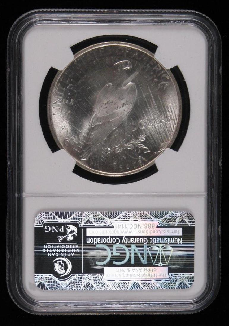 1924-P Peace Dollar NGC MS65 - 2