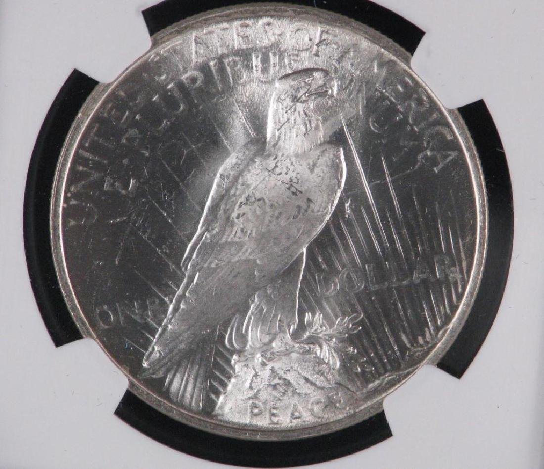 1924-P Peace Dollar NGC MS65 - 4