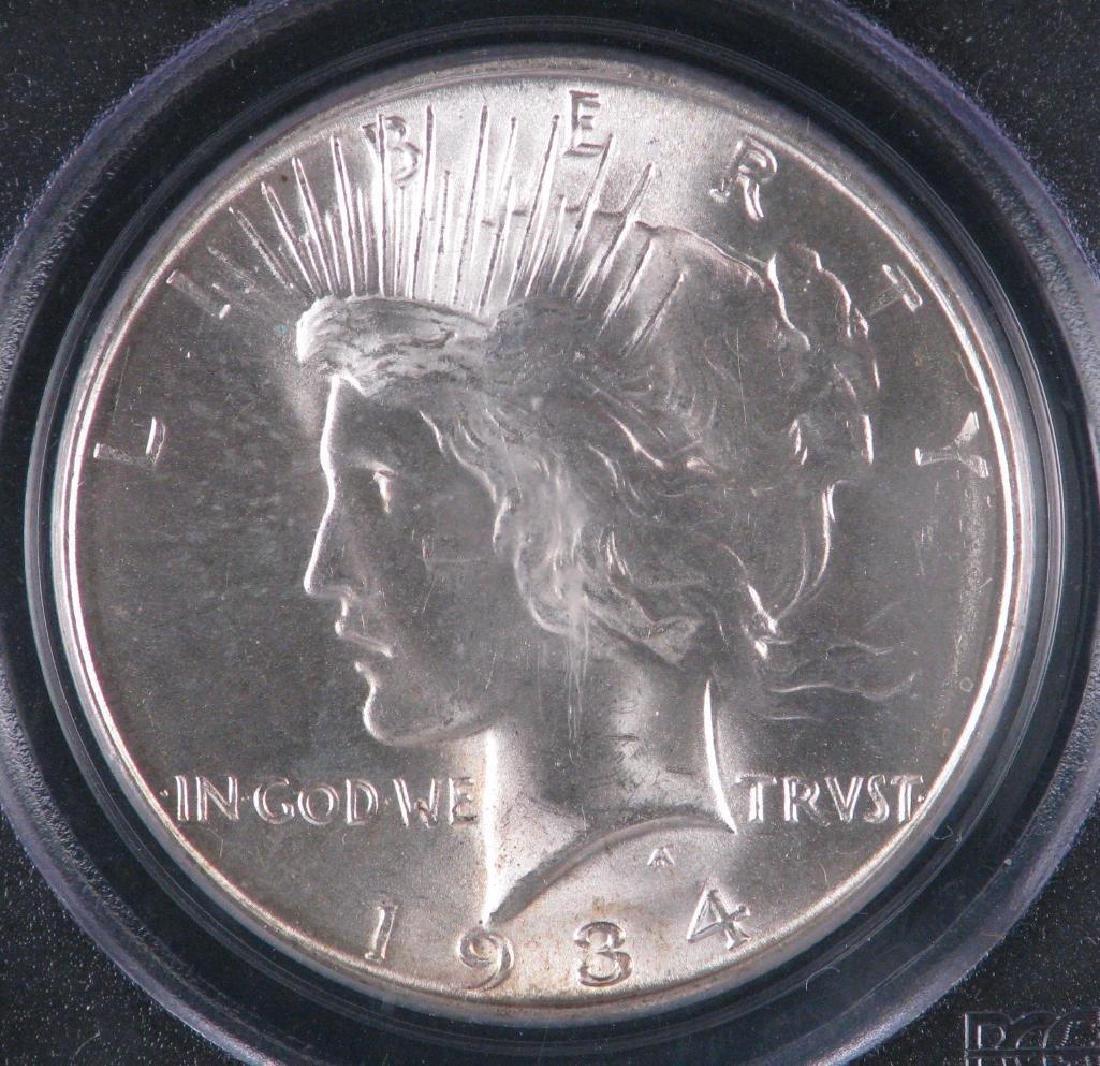 1934-D Peace Dollar PCGS MS64 - 3