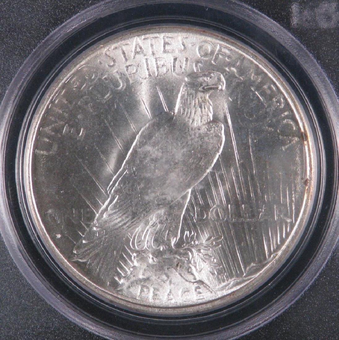 1934-D Peace Dollar PCGS MS64 - 4