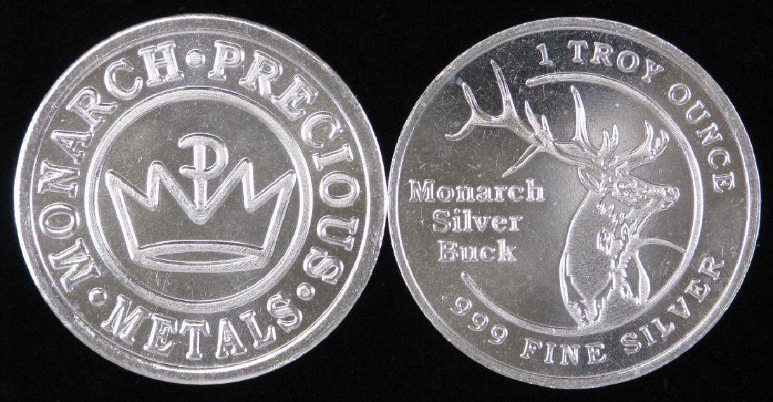 Lot of 20 : 1Êoz. .999 Silver Rounds - 2