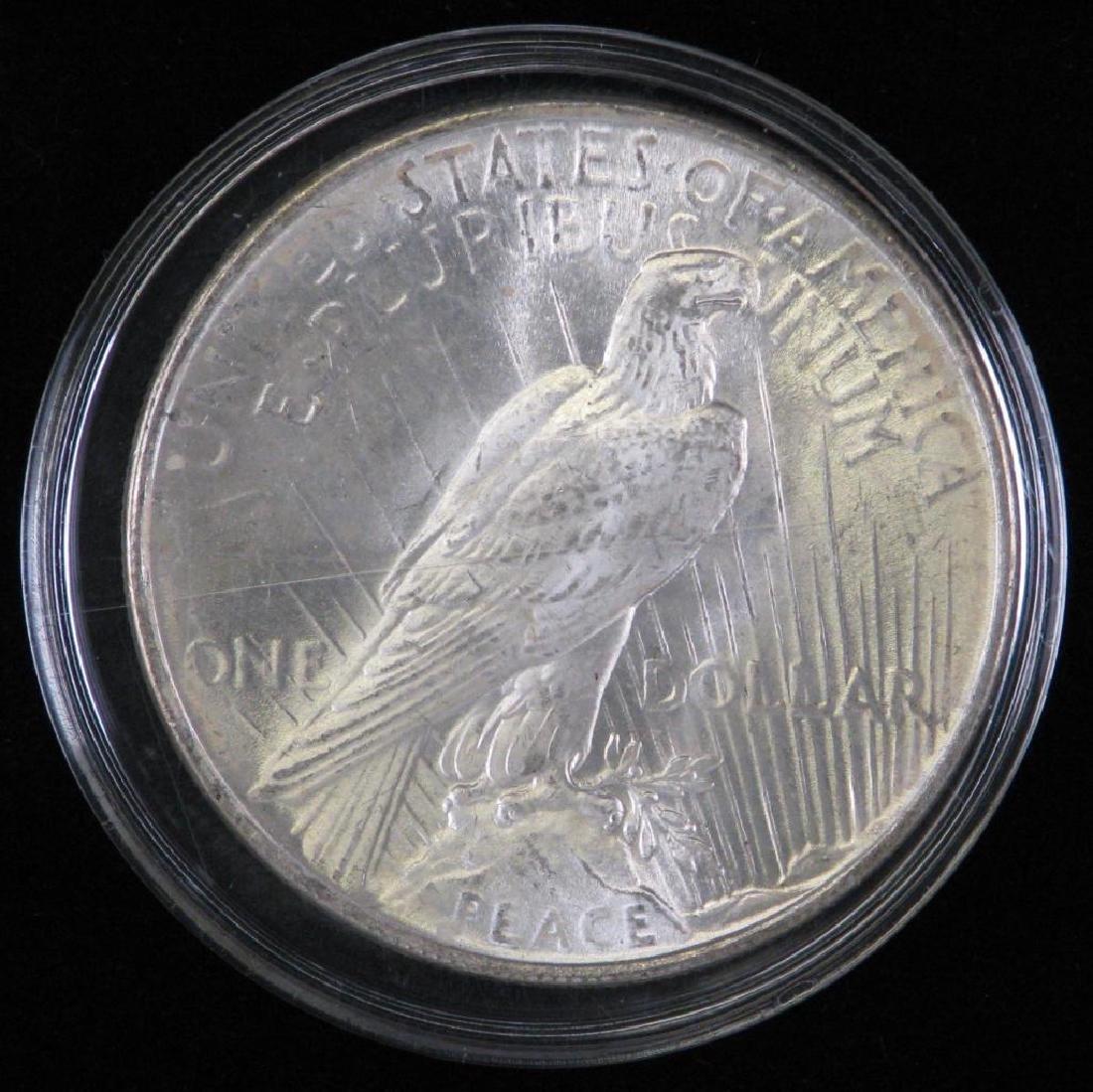 1922-P Peace Dollar BU - 2