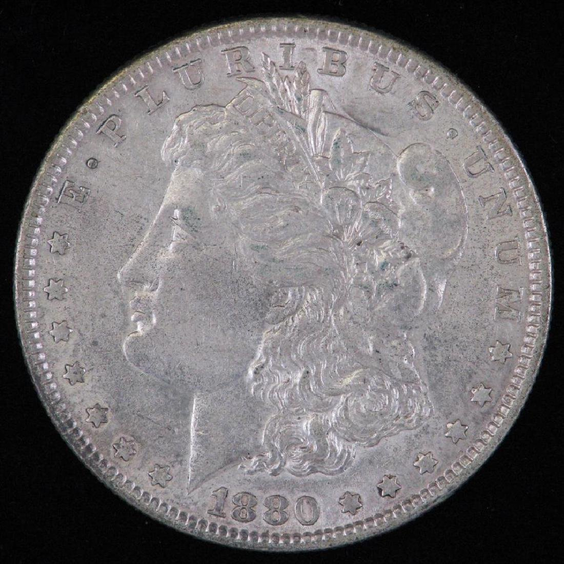 1880-P Morgan Dollar