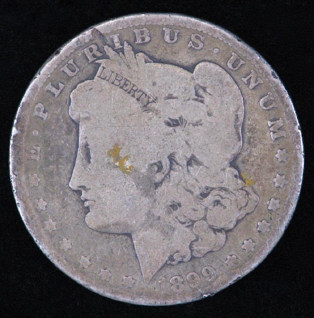 1899-P Morgan Dollar