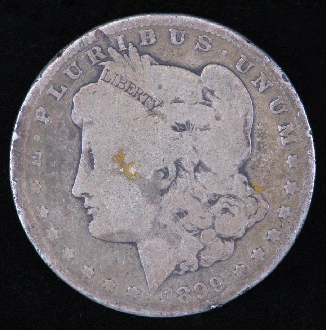1899-P Morgan Dollar