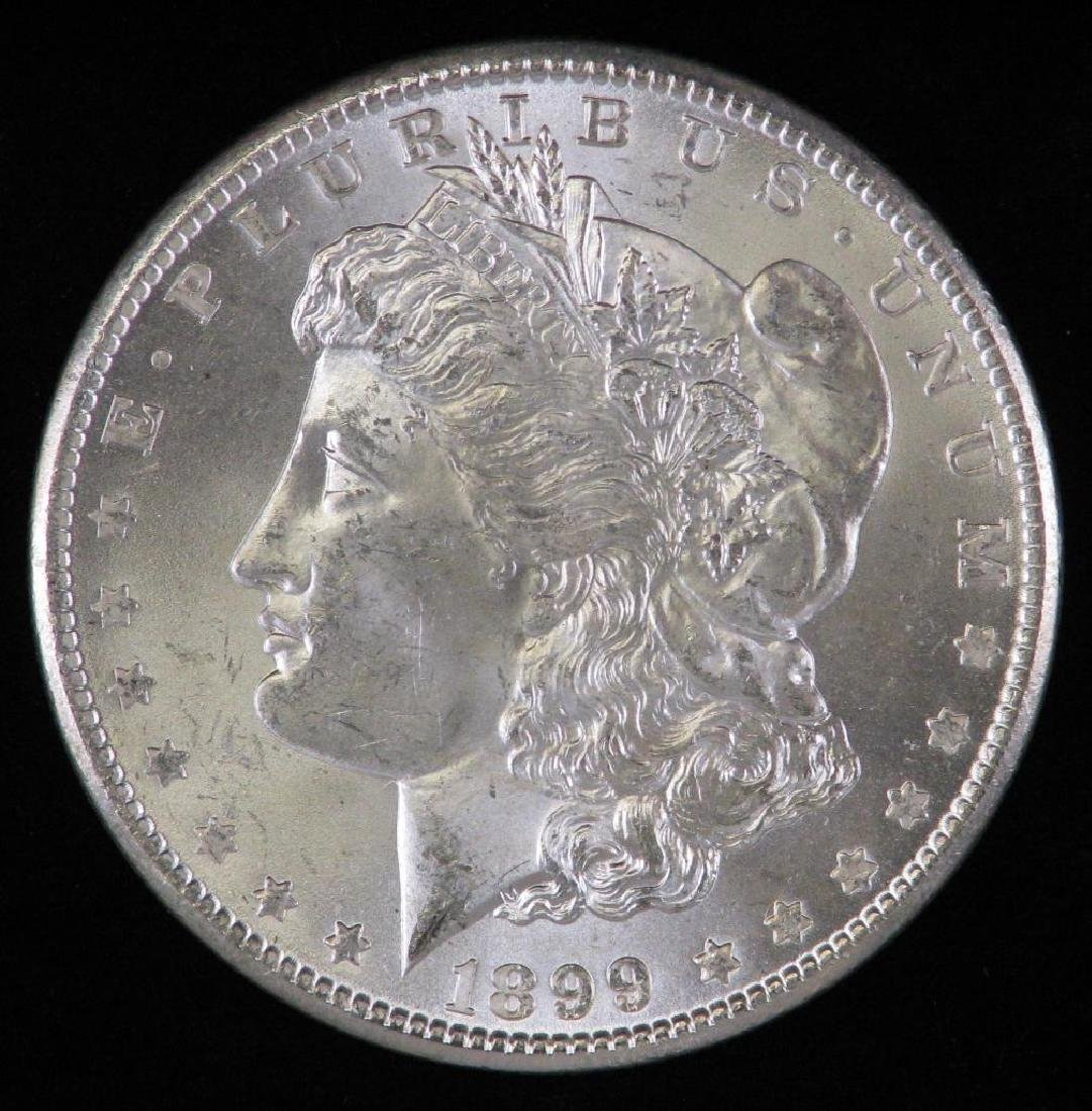 1899-O Morgan Dollar BU