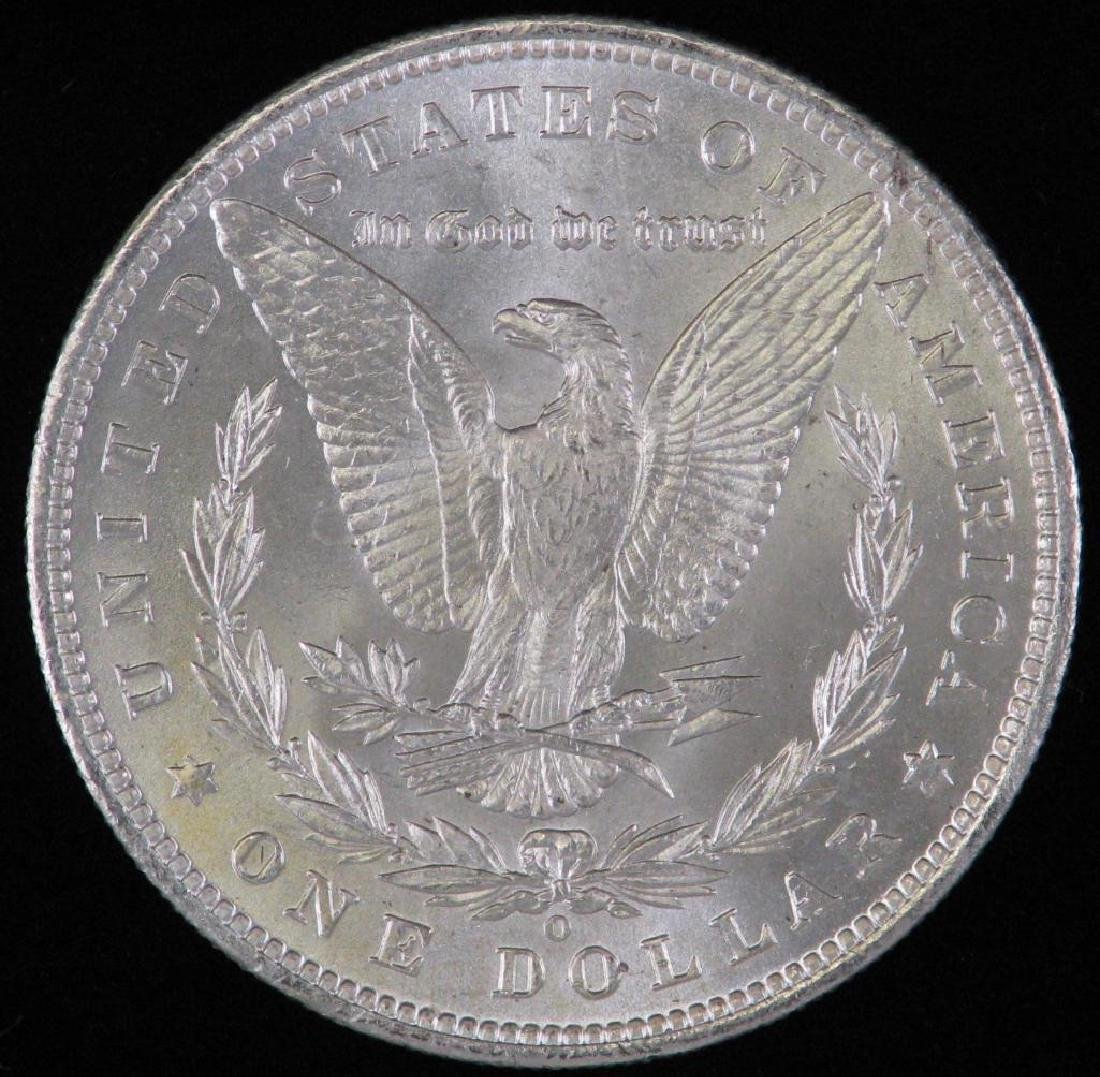 1885-O Morgan Dollar BU - 2