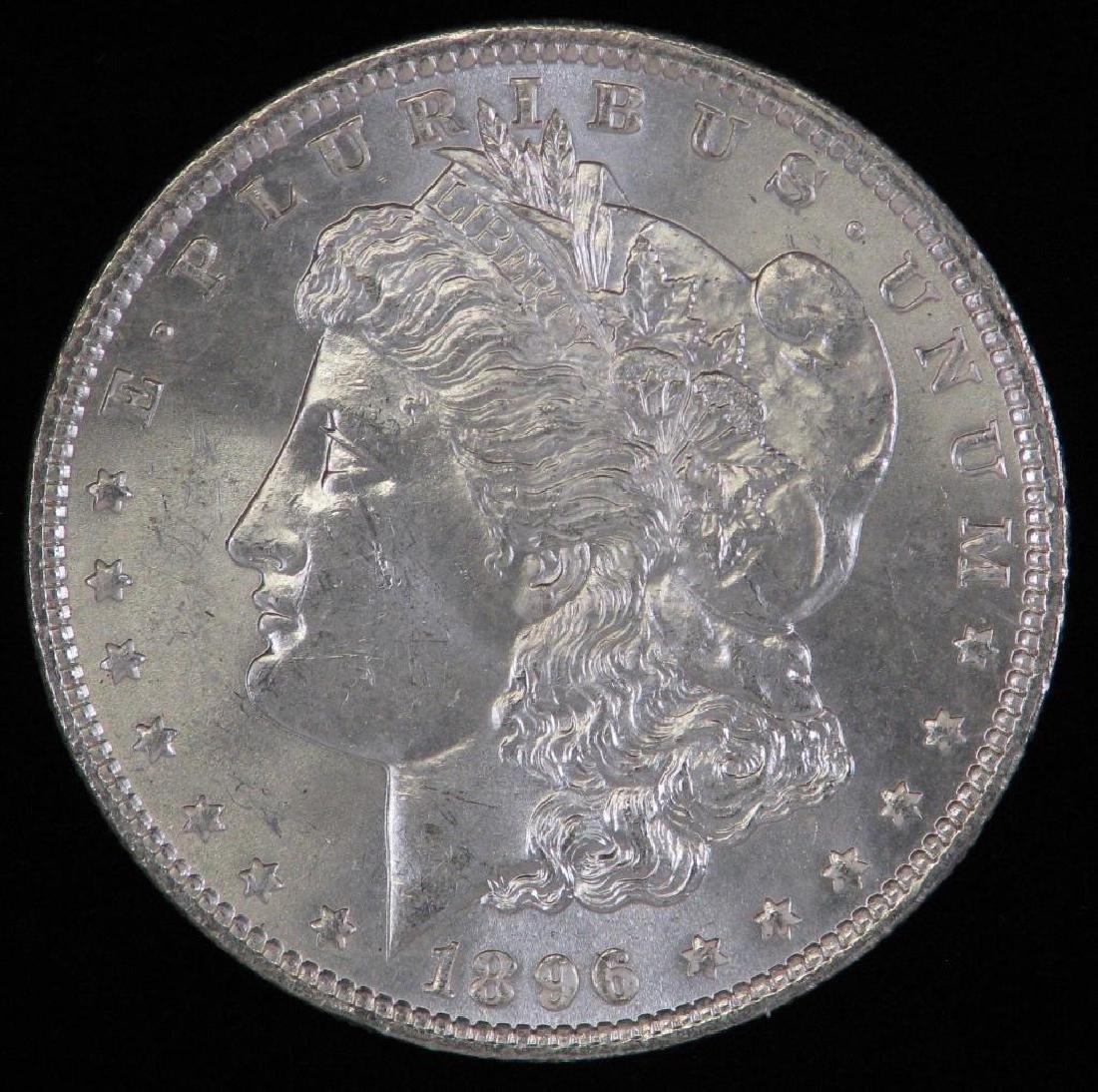 1896-P Morgan Dollar BU