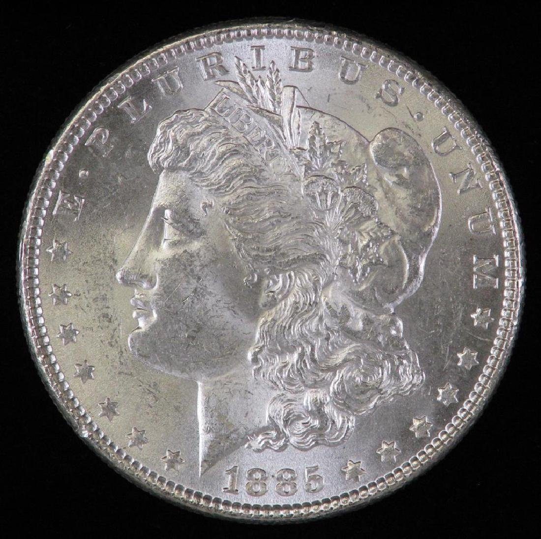 1885-P Morgan Dollar BU