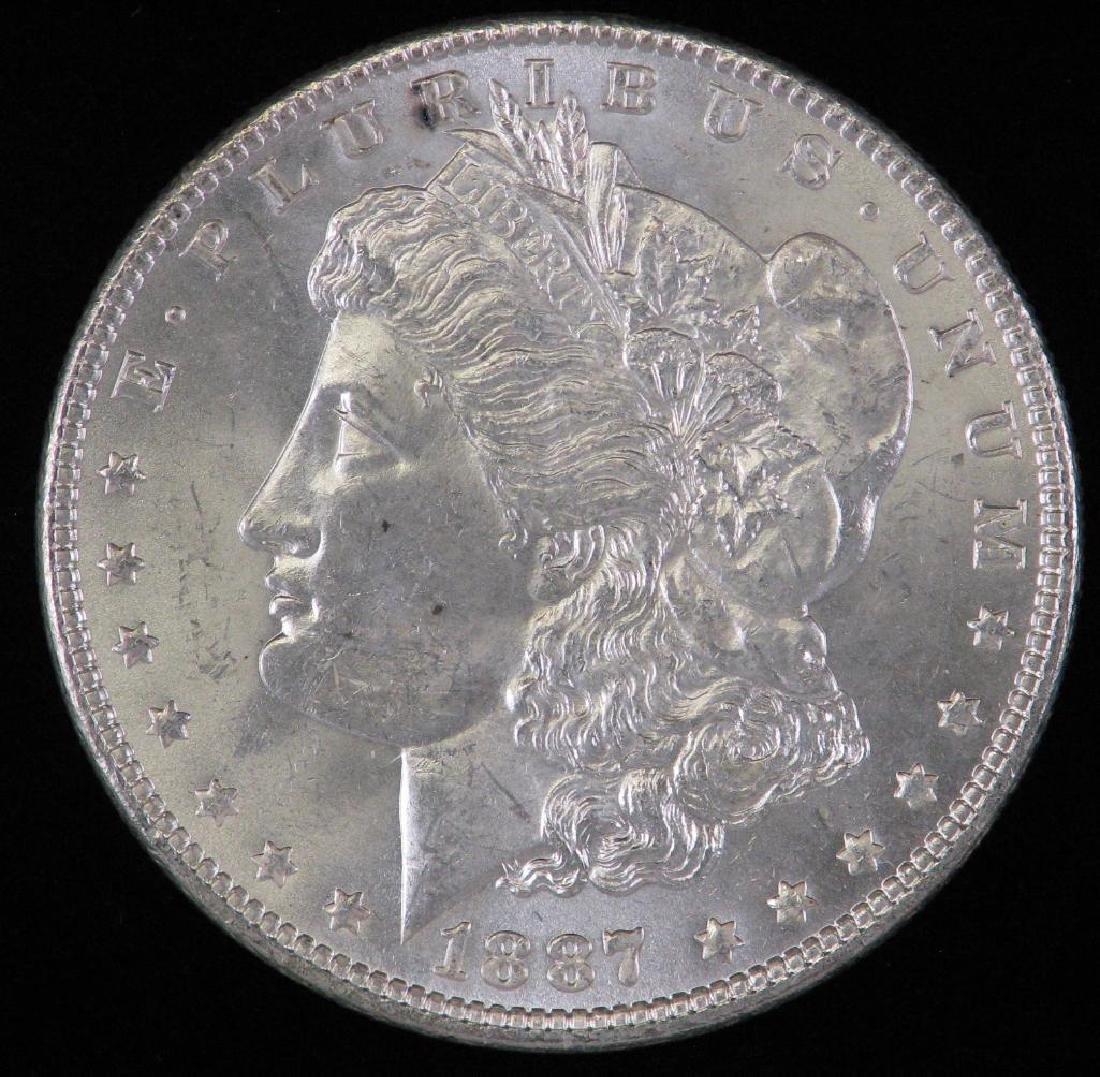 1887-P Morgan Dollar BU
