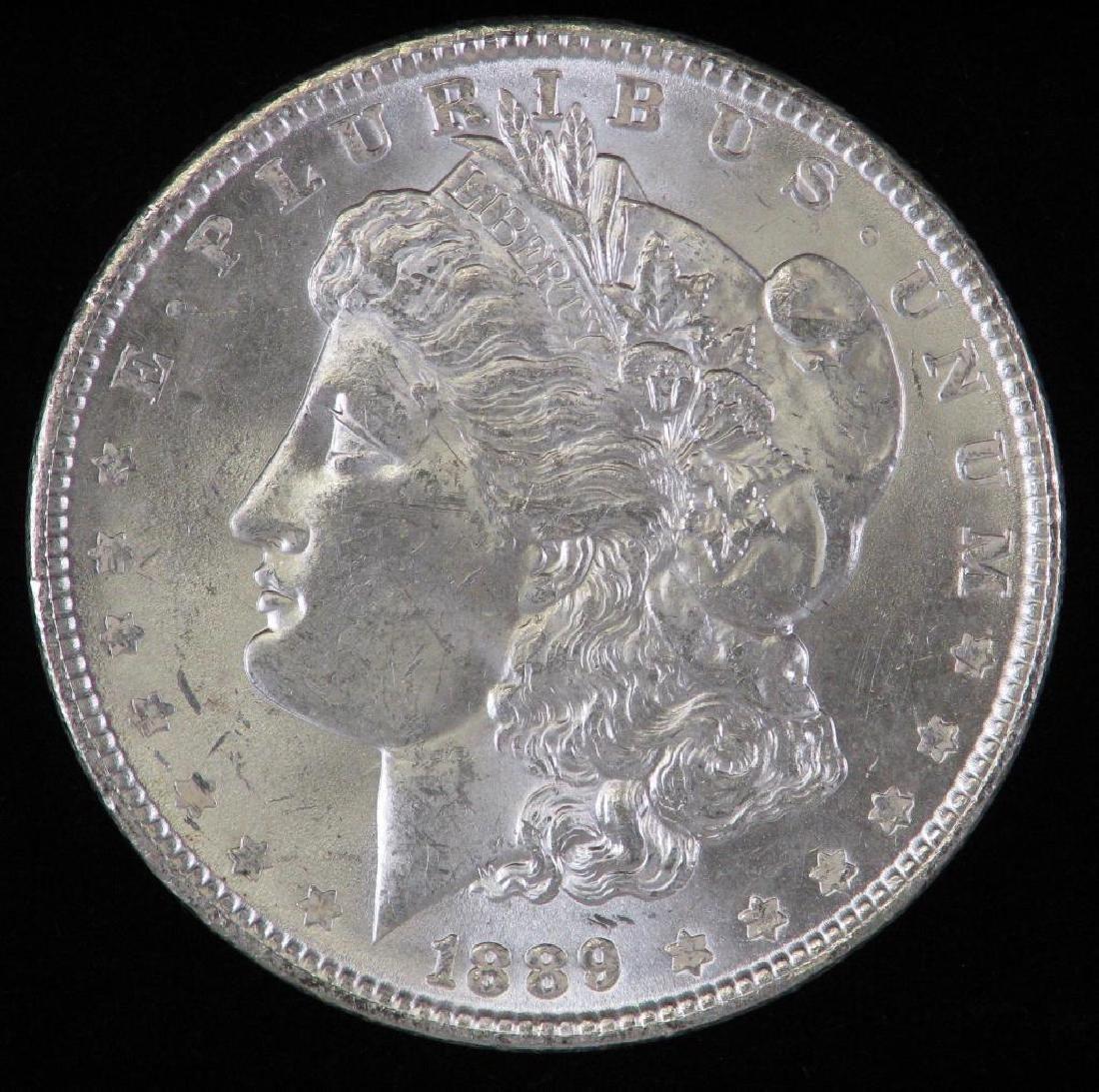 1889-P Morgan Dollar BU
