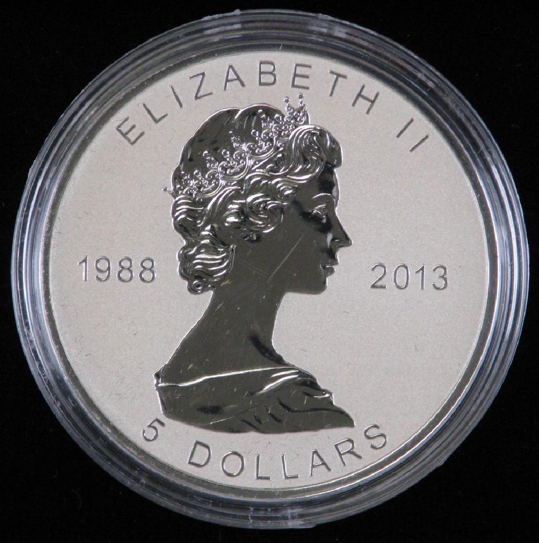 2013 Silver Maple Leaf Fractional Set - 2