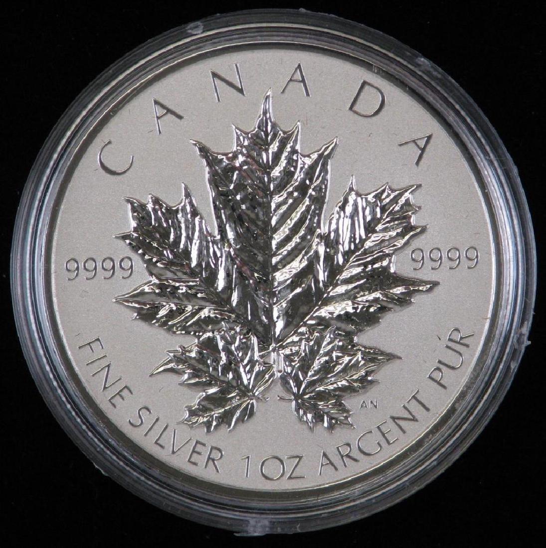 2013 Silver Maple Leaf Fractional Set - 3