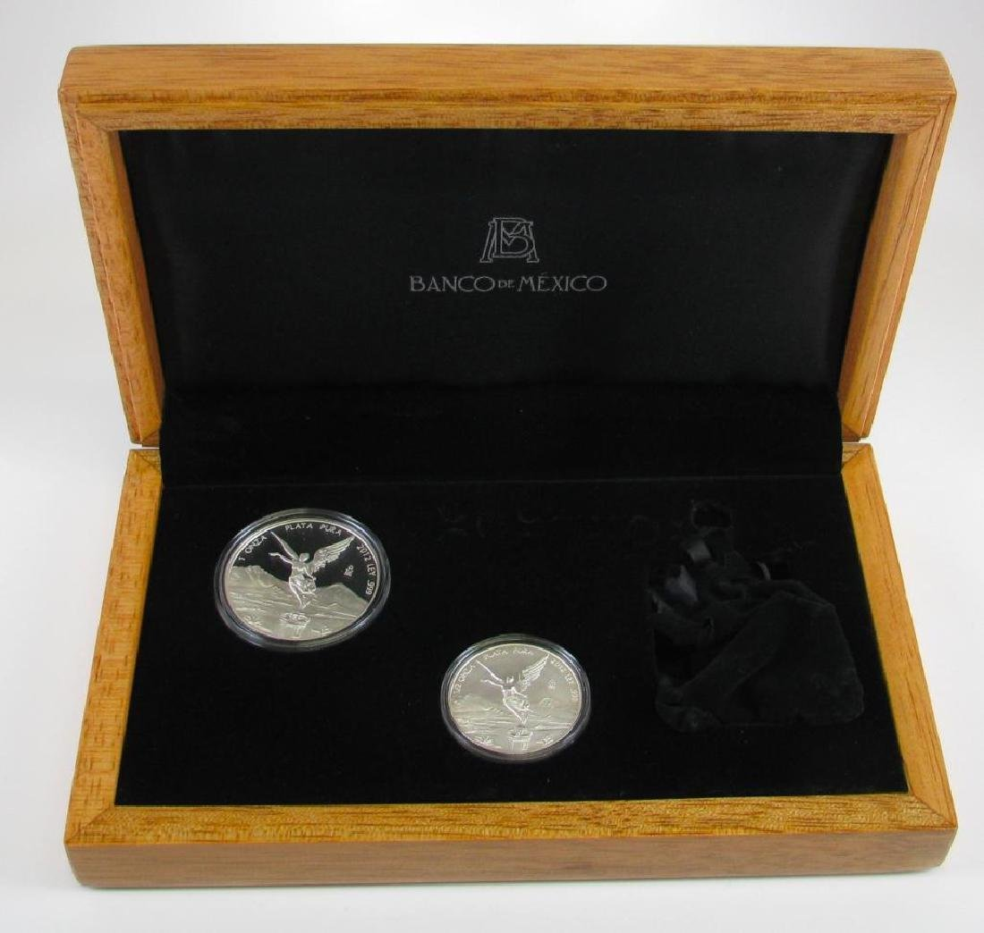 2012 LibertadÊ30th Anniversary Silver Set : 1 oz. and