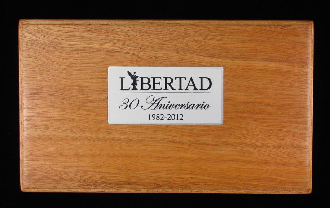 2012 LibertadÊ30th Anniversary Silver Set : 1 oz. and - 5