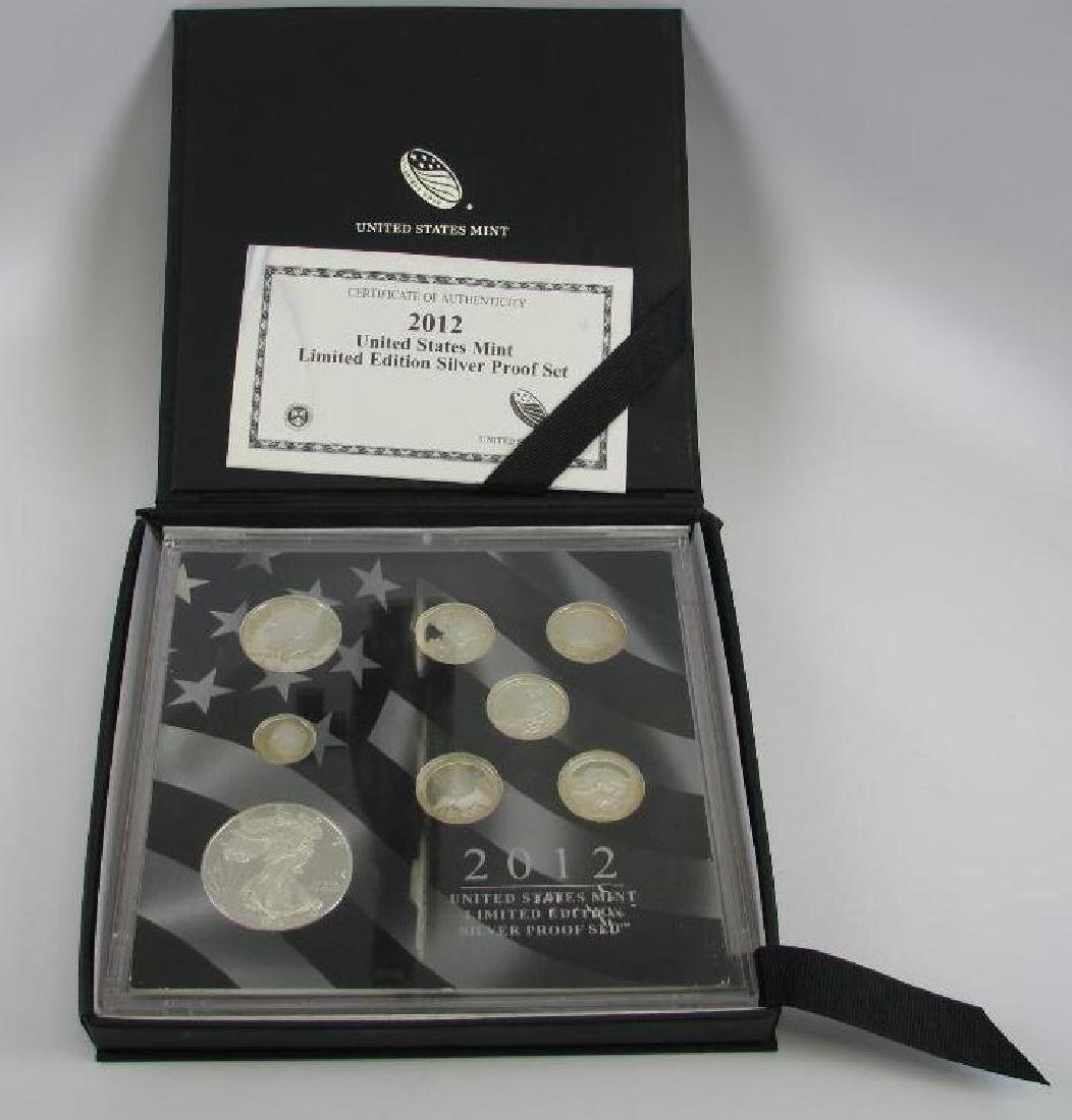 2012 U.S. Mint Limited Edition Silver Proof Set