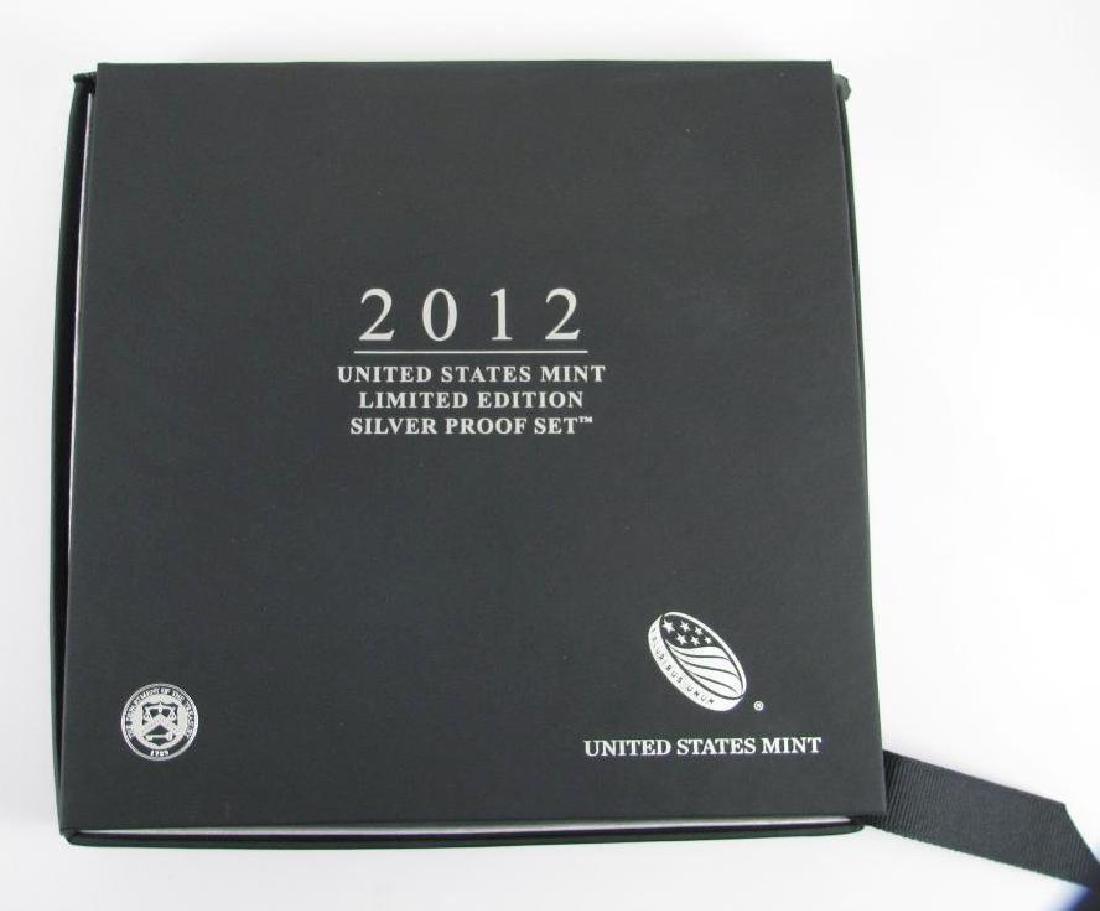 2012 U.S. Mint Limited Edition Silver Proof Set - 3