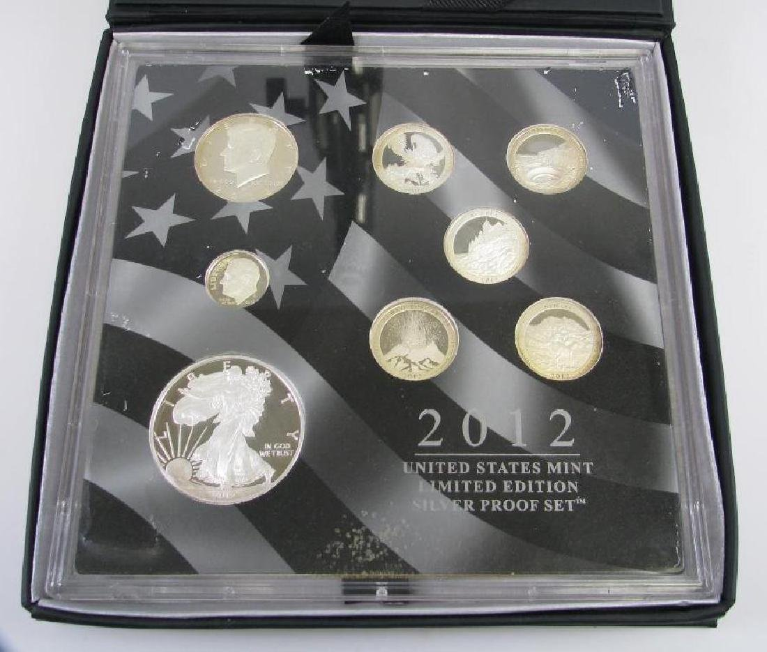 2012 U.S. Mint Limited Edition Silver Proof Set