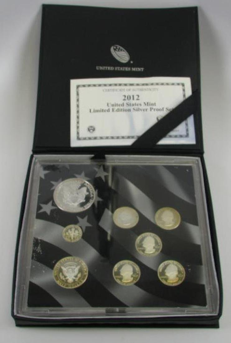 2012 U.S. Mint Limited Edition Silver Proof Set - 2