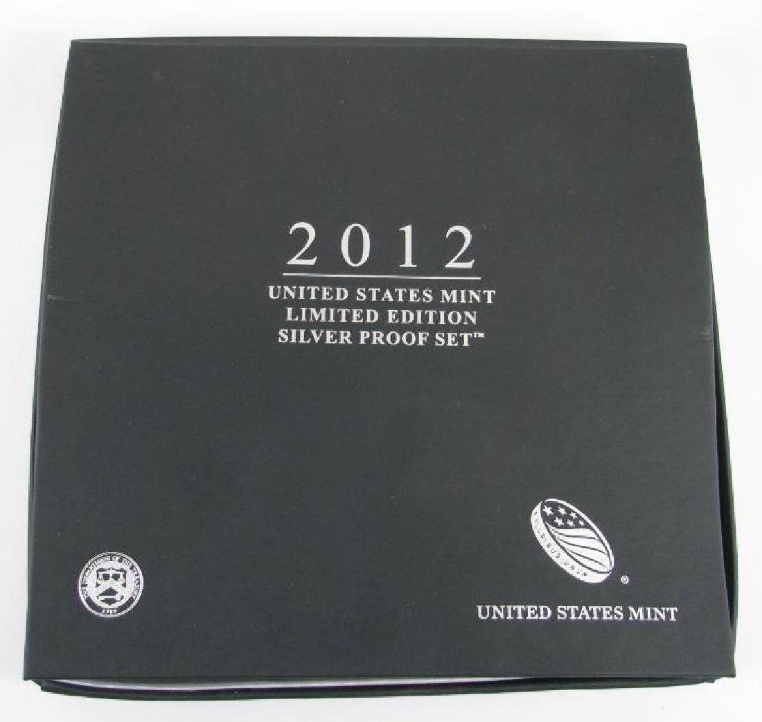 2012 U.S. Mint Limited Edition Silver Proof Set - 3