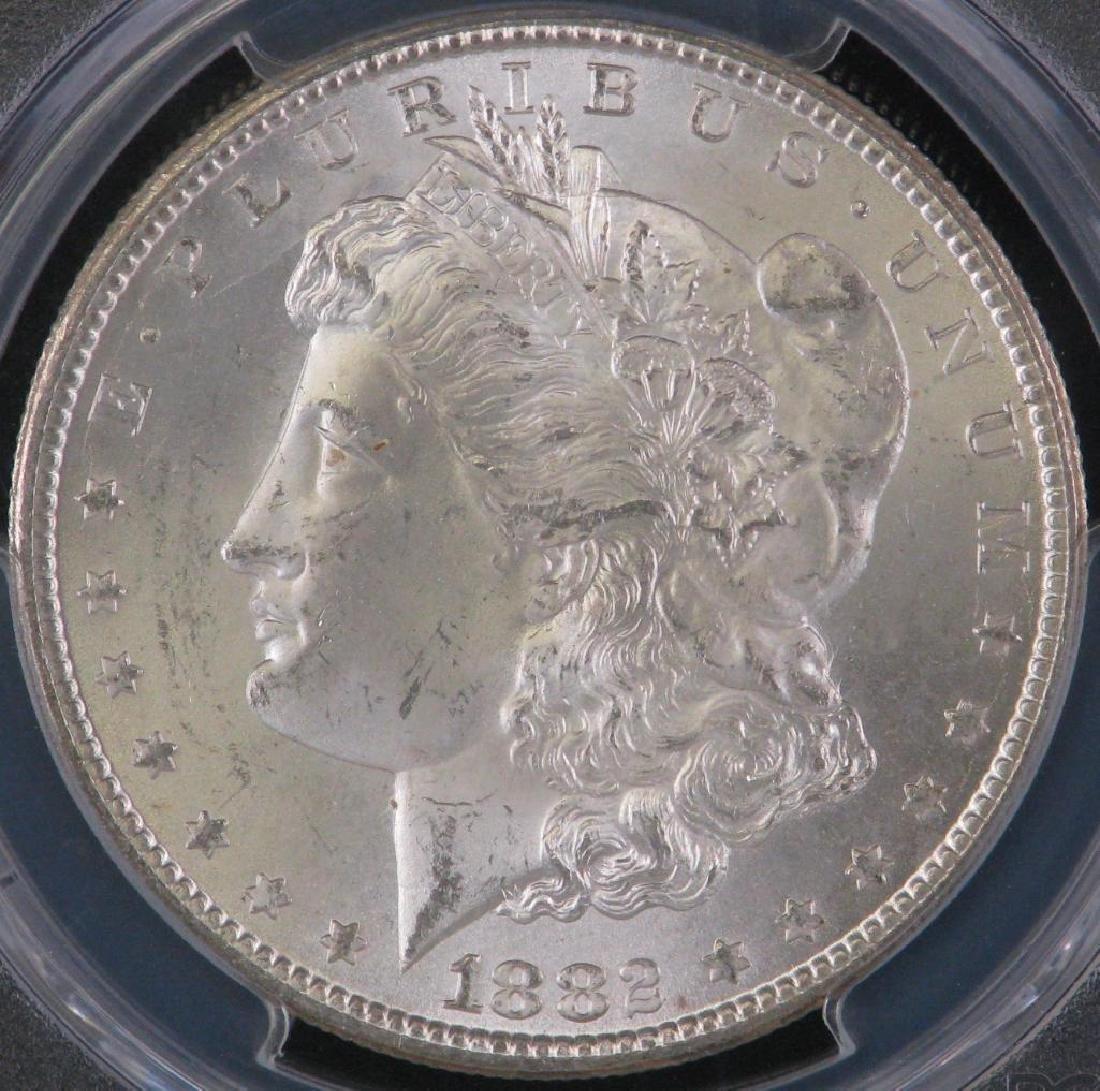 1882-CC Morgan Dollar PCGS MS65 - 3