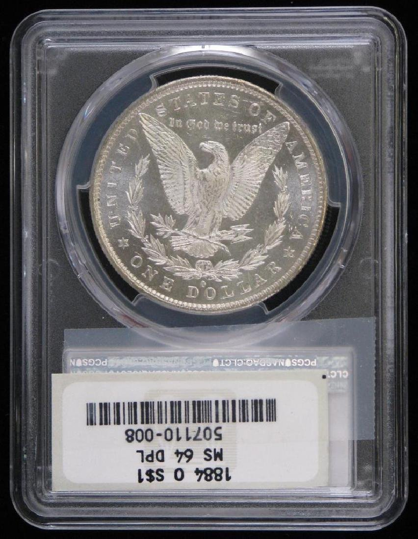 1884-O Morgan Dollar PCGS MS64PL - 2