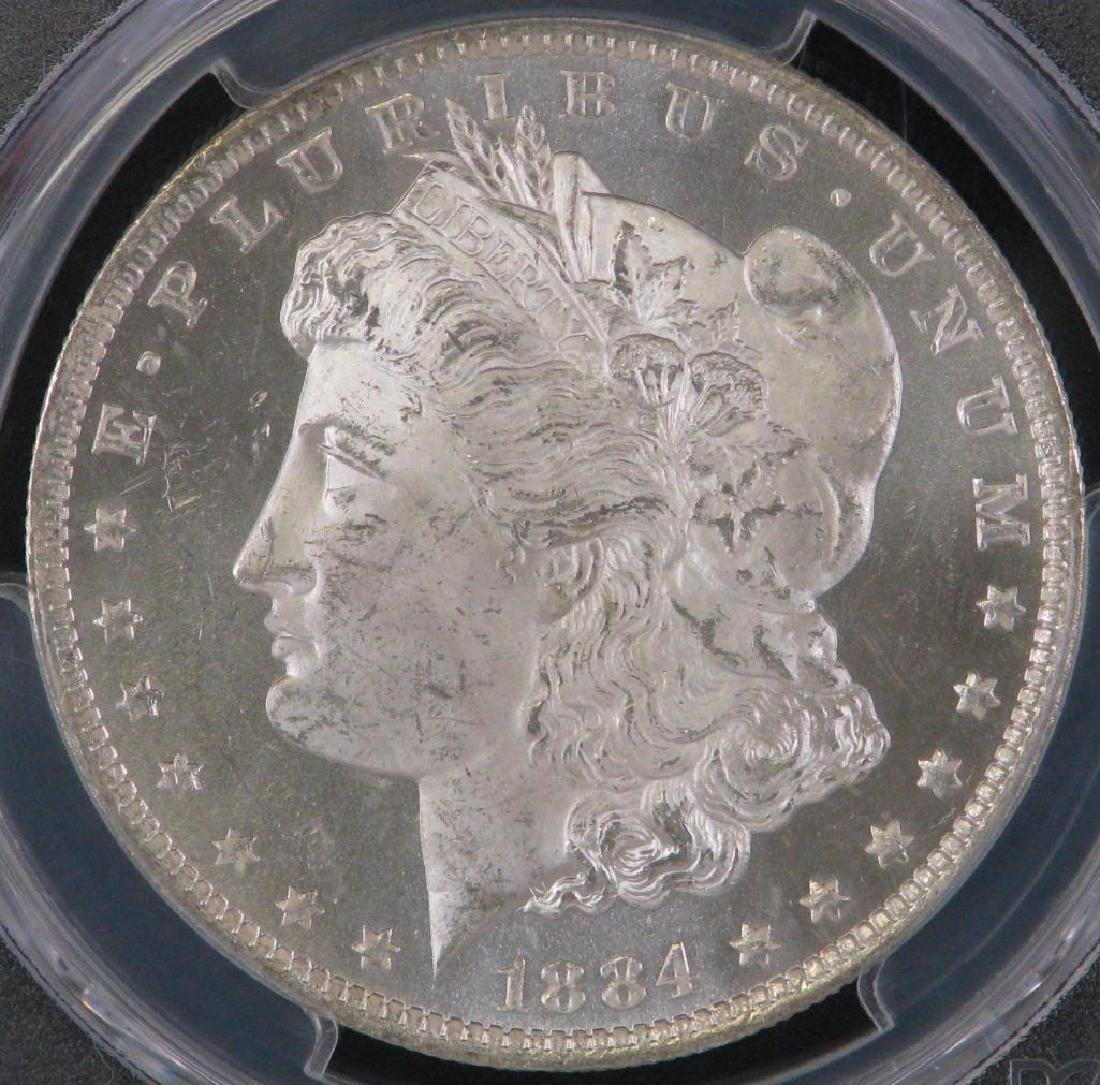 1884-O Morgan Dollar PCGS MS64PL - 3