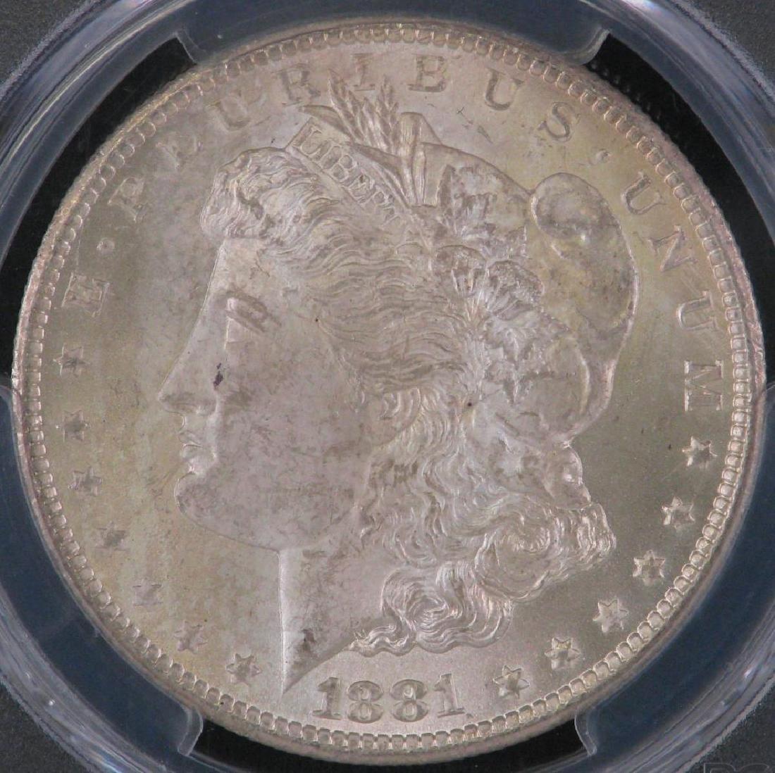 1881-CC Morgan Dollar PCGS MS64 - 3