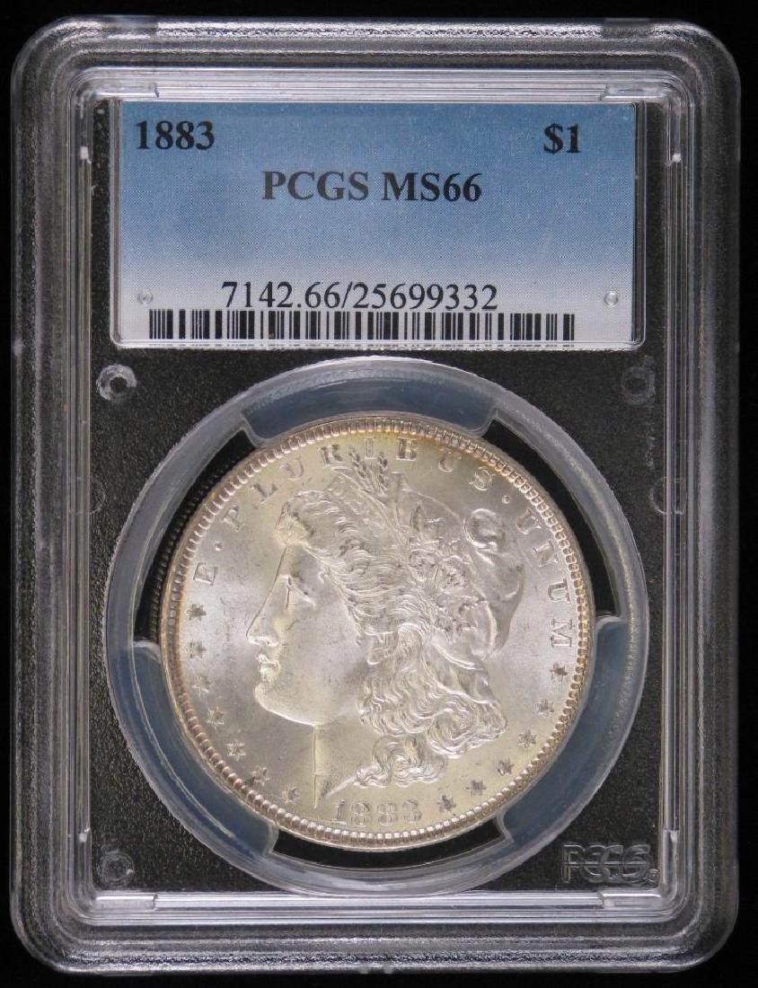 1883-P Morgan Dollar PCGS MS66
