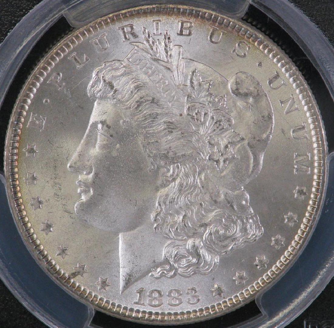 1883-P Morgan Dollar PCGS MS66 - 3