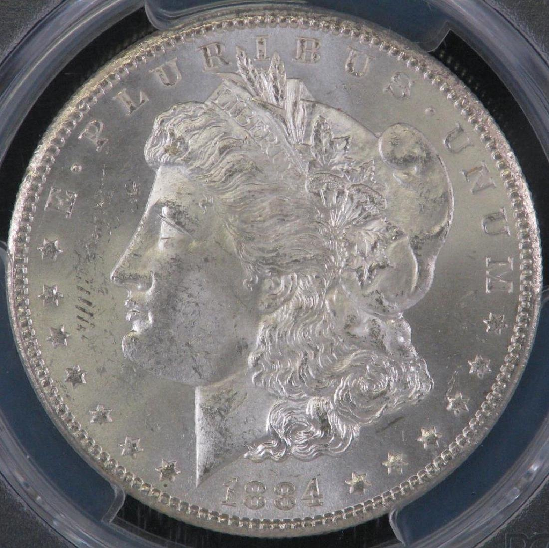 1884-CC Morgan Dollar PCGS MS64 - 3